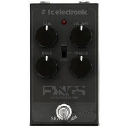 Педаль эффекта TC Electronic Fangs Metal Distortion