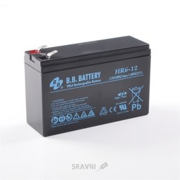 Аккумулятор для ИБП B.B. Battery HR6-12