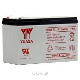 Аккумулятор для ИБП Yuasa NPW36-12