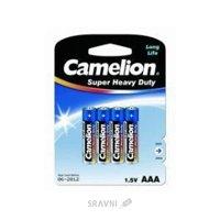 Батарейку, аккумулятор (AA/AAA/C/D) Camelion R03P-BP4B