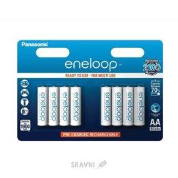 Батарейку, аккумулятор (AA/AAA/C/D) Panasonic AA 1900mAh NiMh 8шт Eneloop (BK-3MCCE/8BE)