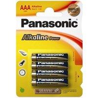 Фото Panasonic AAA bat Alkaline 4шт Alkaline Power (LR03REB/4BP)