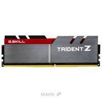 Модуль памяти для ПК и ноутбука Модуль памяти G.skill  16GB (2x8GB) DDR4 3200MHz Trident Z Silver/Red (F4-3200C16D-16GTZ)