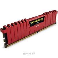 Corsair 8GB (2x4GB) DDR4 2133 MHz Vengeance LPX Red (CMK8GX4M2A2133C13R)
