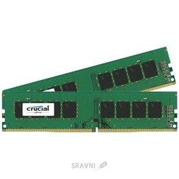 Модуль памяти для ПК и ноутбука Crucial 8GB (2x4GB) DDR4 2400MHz (CT2K4G4DFS824A)