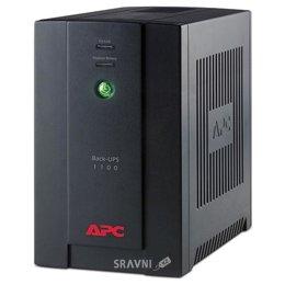 UPS (Система бесперебойного питания) APC Back-UPS 1100VA with AVR, Schuko Outlets for Russia, 230V