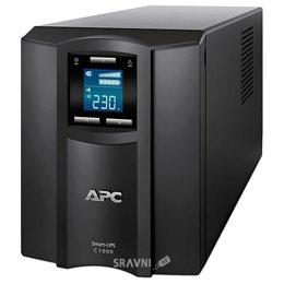 UPS (Система бесперебойного питания) APC Smart-UPS C 1000VA LCD