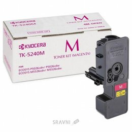 Картридж, тонер-картридж для принтера Kyocera TK-5240M