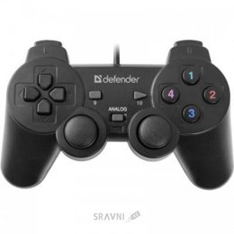 Джойстик, геймпад, контроллер Defender Omega USB