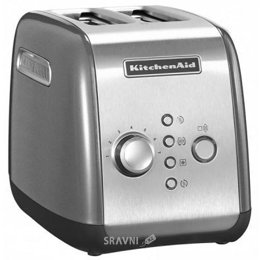 Тостер, бутербродницу, вафельницу KitchenAid 5KMT221ECU
