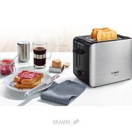 Тостер, бутербродницу, вафельницу Bosch TAT 6A117