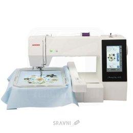 Швейную машинку и оверлоку Janome Memory Craft 500E
