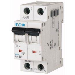Автоматический выключатель Eaton PL4-C63/2 (293148)