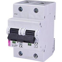 Автоматический выключатель ETI ETIMAT 10 2p C 63A (2133722)