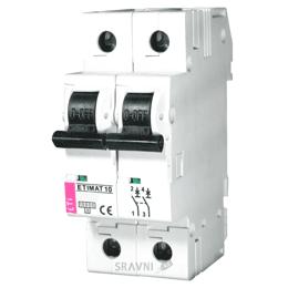 Автоматический выключатель ETI ETIMAT 10 DC 2p C 63A (6 kA) (2138722)
