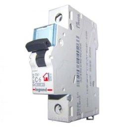 Автоматический выключатель Legrand TX3 25A, C, 6 kA, 1 п. (404030)