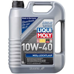 Моторное масло Liqui Moly MoS2 Leichtlauf 10W-40 5л