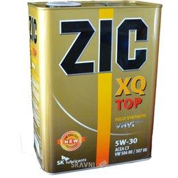 Моторное масло ZIC XQ TOP 5W-30 4л