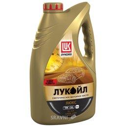 Моторное масло Лукойл Люкс 5W-30 4л