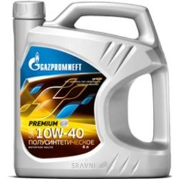 Моторное масло Gazpromneft Premium 10W-40 4л