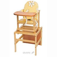 Стульчик и стол для кормления ПМДК Премьер