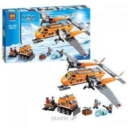 Конструктор детский Bela Urban Arctic Арктическая экспедиция на самолете (10441)