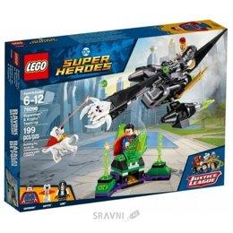 Конструктор детский LEGO Super Heroes Супермен и Крипто объединяют усилия (76096)