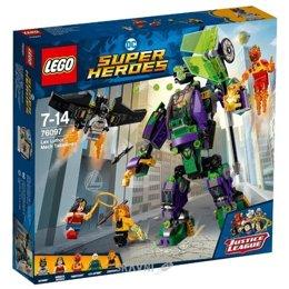 Конструктор детский LEGO Super Heroes 76097 Сражение с роботом Лекса Лютора