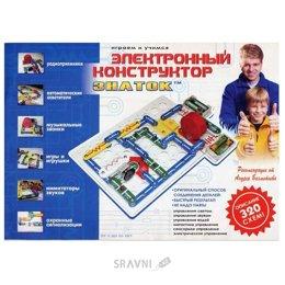 Конструктор детский Знаток Электронный конструктор (320 схем) (REW-K002)