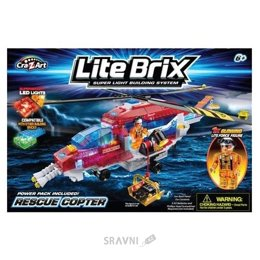 Cra-Z-Art Lite Brix 35822 Спасательный вертолет