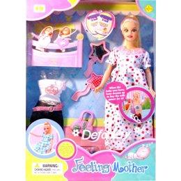 Куклу Defa Кукла Беременная с детками (8009)