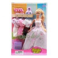 Defa Кукла Модница с нарядами и аксессуарами 29 см (8012)