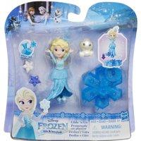 Куклу Hasbro Маленькая кукла Холодное Сердце на движущейся платформе-снежинке (B9249)