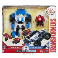 Фото Hasbro Transformers Robots In Disguise Strongarm & Trickout (C0653)