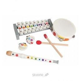 Музыкальная игрушка Janod Набор 4 инструмента (J07600)