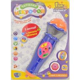 Музыкальная игрушка Limo Toy Микрофон (7043)