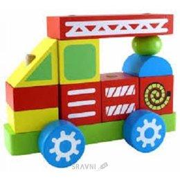 Игрушку для младенцев Alatoys Пожарная машина (ККМ01)