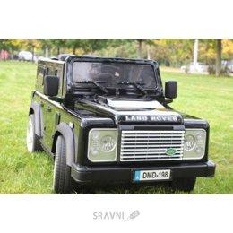 Детский электромобиль, веломобиль Barty Land Rover Defender