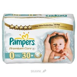 Подгузник Pampers Premium Care Newborn 0 (30 шт.)