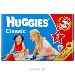 Подгузник Huggies Classic 5 (42 шт.)