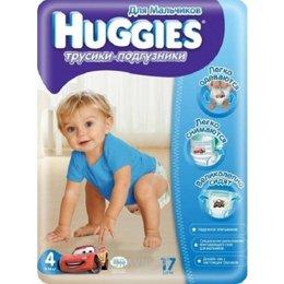 Подгузник Huggies Трусики для мальчиков 4 (17 шт.)