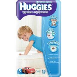 Подгузник Huggies Трусики для мальчиков 5 (15 шт.)