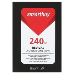 Жесткий диск, SSD-Накопитель Smartbuy SB240GB-RVVL-25SAT3