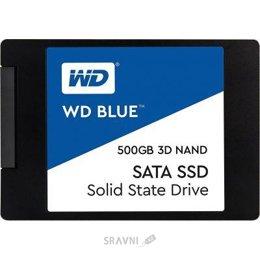 Жесткий диск, SSD-Накопитель Western Digital SSD Blue 1TB (WDS100T2B0A)