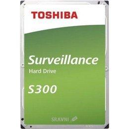 Жесткий диск, SSD-Накопитель Toshiba S300 6TB (HDWT360UZSVA)