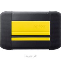 Жесткий диск (HDD) Apacer AC633 1 TB Energetic Yellow X Tough Black (AP1TBAC633Y-1)