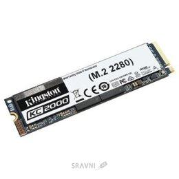 Жесткий диск, SSD-Накопитель Kingston KC2000 1TB M.2 2280 (SKC2000M8/1000G)