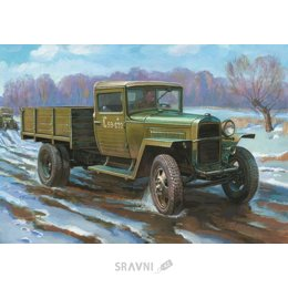 Сборную модель ZVEZDA Грузовик ГАЗ-ММ (ZVE3574)