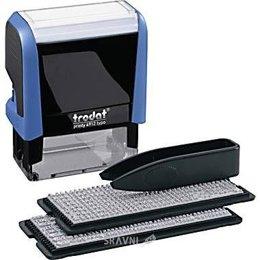 Канцтовар Trodat Самонаборный штамп 3-х строчный Printy 4911