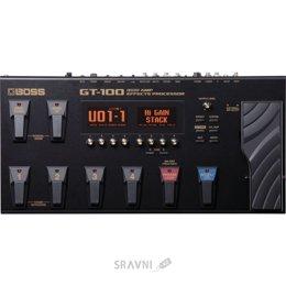 гитарныый процессор эффекта Boss GT-100